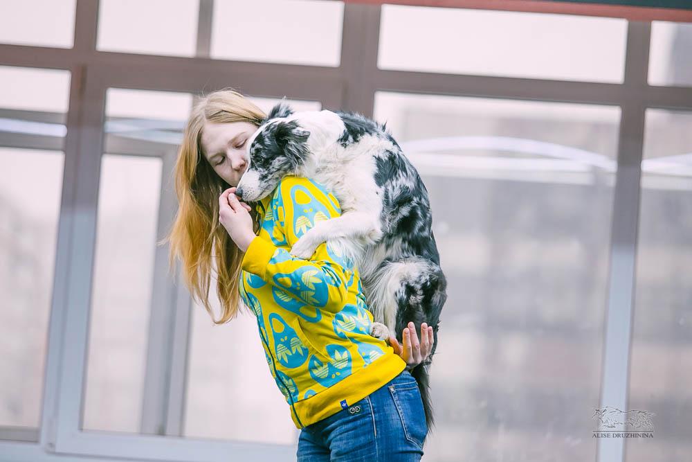 Трюковая дрессировка с Алиной Дюковой. Фото7